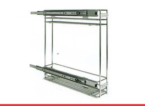 Extraibles de cocina en acero inoxidable induaho - Accesorios para armarios de cocina ...