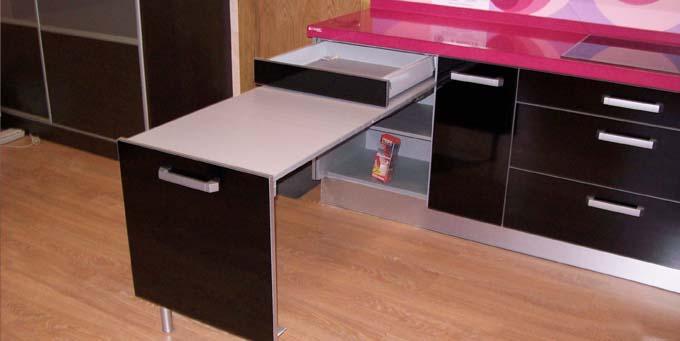 Mesa de cocina extraible induaho induaho - Mesa extraible cocina ...